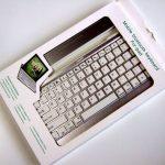 何が起こった?気まぐれモバイルキーボード『Bluetooth Keyboard for iPad』
